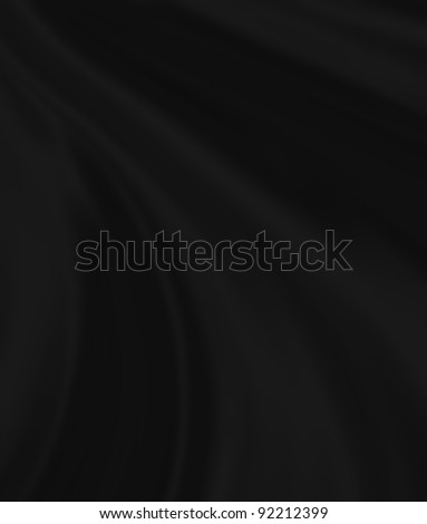 folds of black silk, close-up full screen
