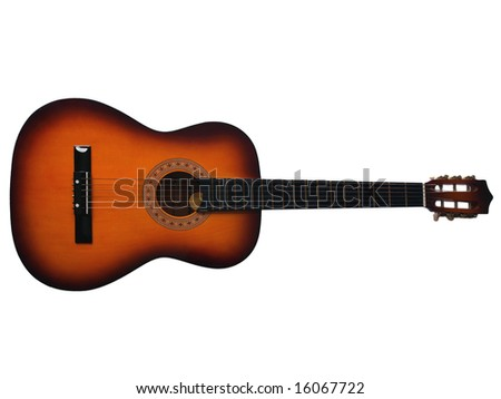 Folk acoustic guitar