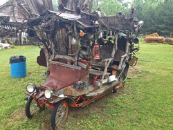Folk Art Truck Sculpture in rural Alabama