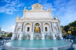 Fontana dell'Acqua Paola in Rome. Italy also known as Il Fontanone (