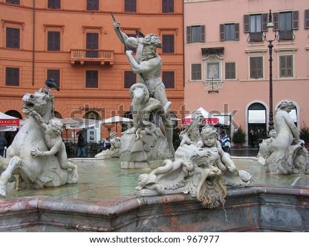 Fontana di Nettuno, 1574
