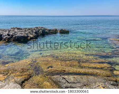 Fontane Bianche in Syracuse, Sicily Foto stock ©