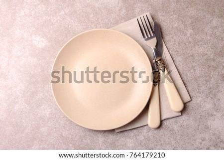 food background. empty vintage...