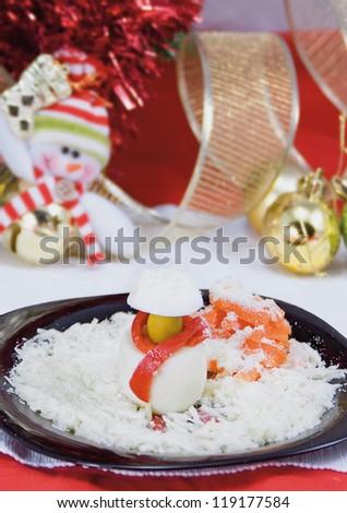 Food: Christmas eggs