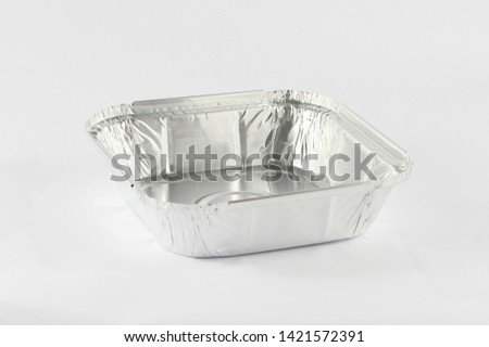 Food Container in isolated background