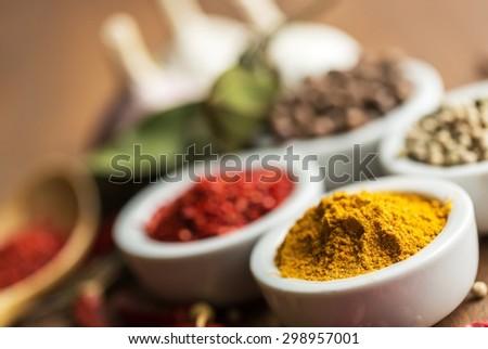 Food, Curry Powder, Spice.