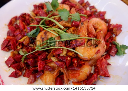 Food Gourmet Delicious Cuisine Shrimp Beef