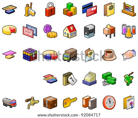 Food Industry Icon Set #92084717