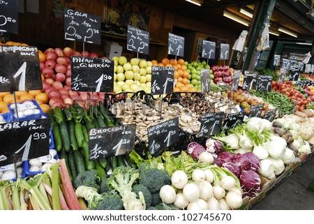 Food Market in Vienna