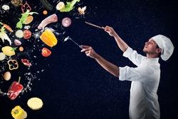 Food musical harmony foe xmas menu