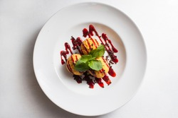 food photography creative restaurant dessert recipe concept