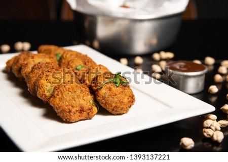 Food Photography - Portion of Falafel