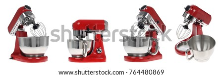 food processor on a white background