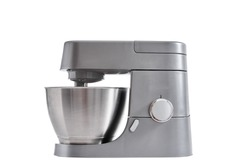 Food processor on a white background isolated