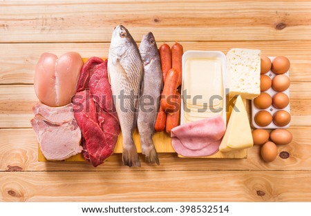 Shutterstock Food, Proteins