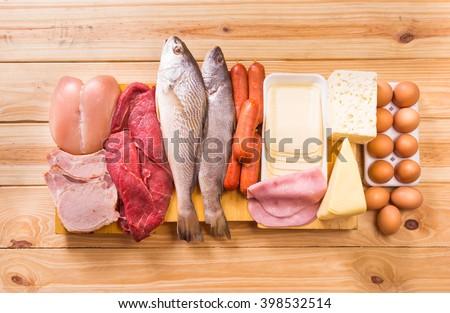 Shutterstock Food, Proteins