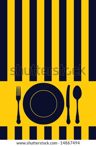 Restaurant Design on Food   Restaurant   Menu   Card Design Stock Photo 14867494