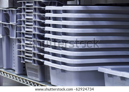 Food storage pans