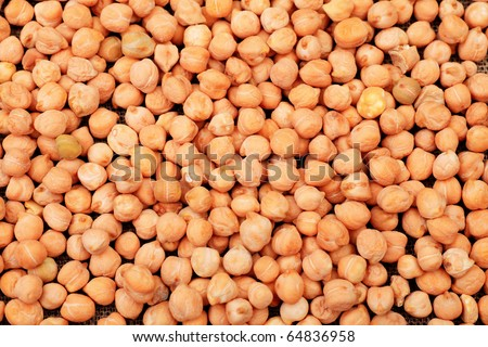 Food theme: chickpeas , garbanzo beans background.