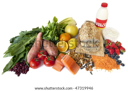 "Foods designated ""Diabetes Superfoods"", because of their low glycemic index, and valuable nutrients."