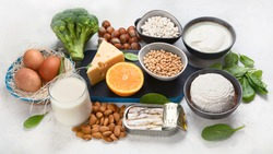 Foods High in Calcium for bone health, muscle constraction, lower cancer risks, weight loss.