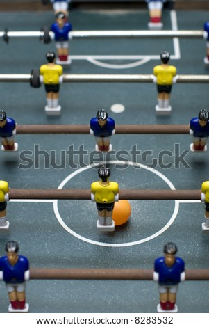 foosball game vertical format