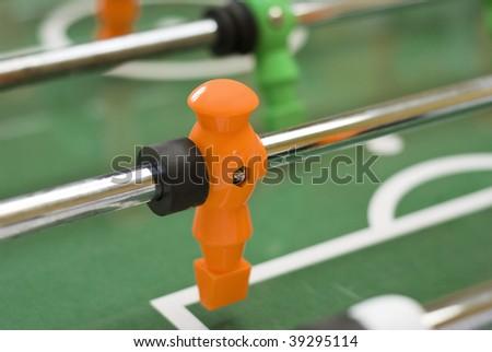 Foosball player figure
