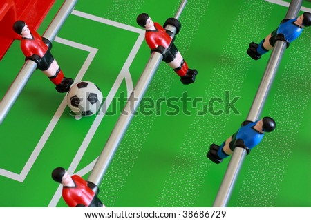 foosball table match 2