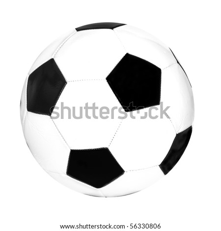 foot ball on white background