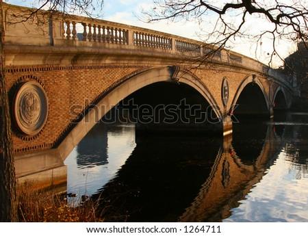 Foot Bridge over Charles River, Harvard Massachusetts