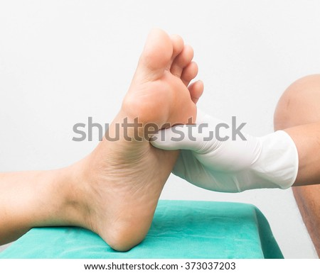 Shutterstock foot care diabetic neuropathy