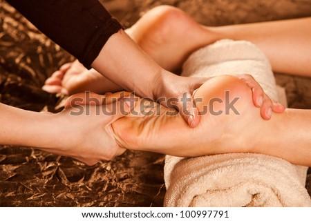 foot massage technique
