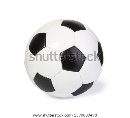 football ball, isolated on white #1390889498