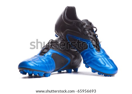 ad282319a Football boots. Soccer boots. Isolated on white.  65956693