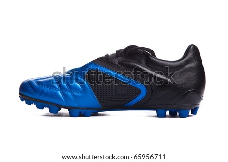 c3cd1ea30 Football boots. Soccer boots. Isolated on white.  65956711