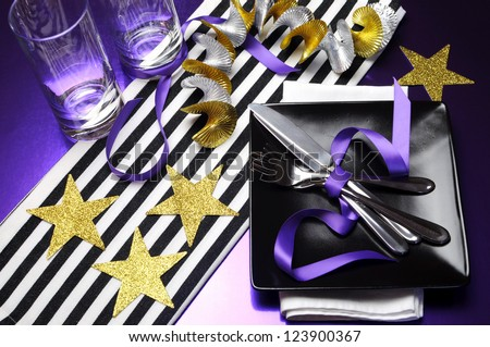 Football Celebration Party Table In Team Colors Decorations Of