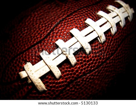 football close-up