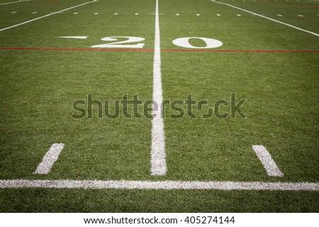 Football Field Markings #405274144