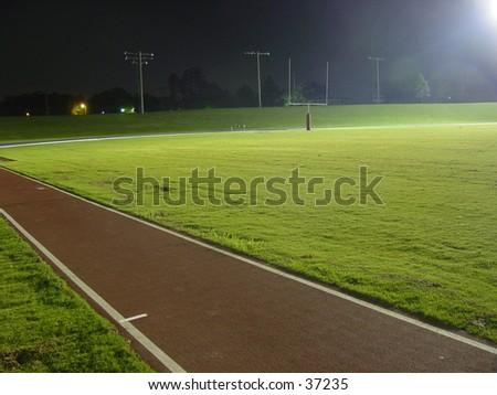 football field night