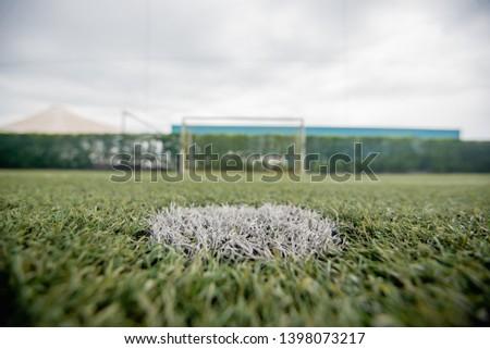 football field or soccer field