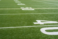 football field yard lines and numbers