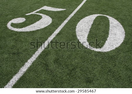 Football Fifty Yard Line
