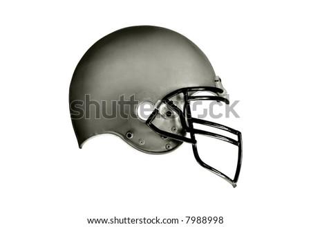 Football helmet isolation