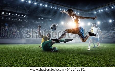 Football hottest moments . Mixed media #643348591