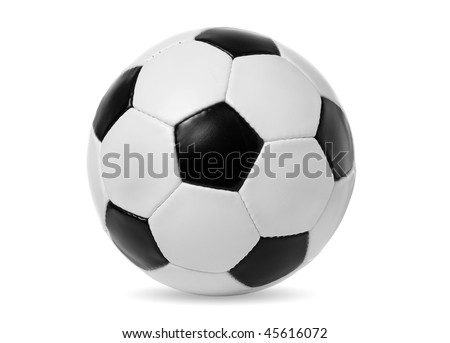 Football isolated on a white #45616072
