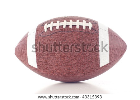 Football - Isolated over a white background