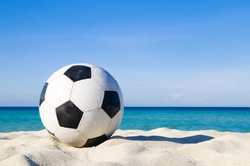 Football on a Beach