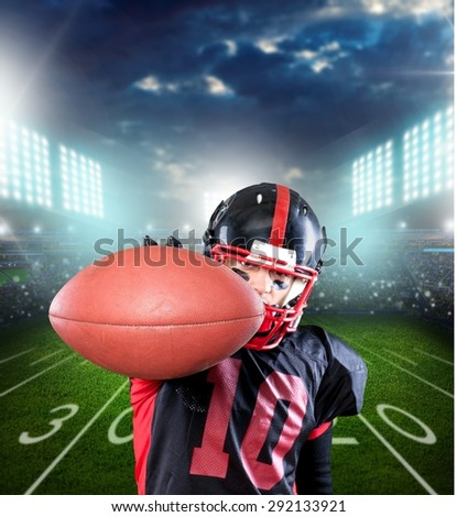 Football Player, American Football, Catching.