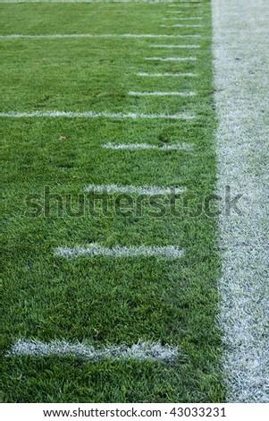 Football Sideline - stock photo