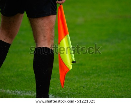 football, soccer Linesman
